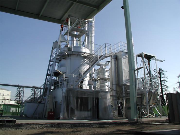 アイオンの産業廃棄物焼却装置