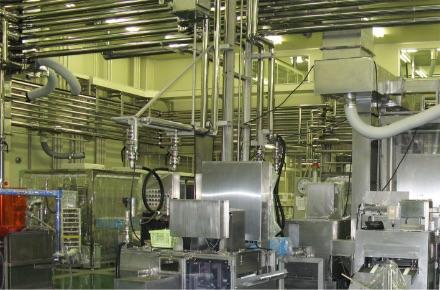 製造設備と技術開発