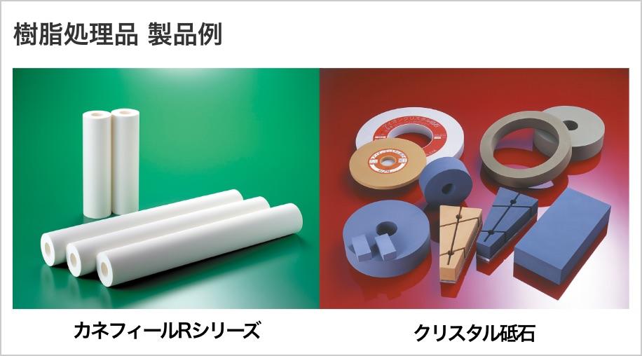 樹脂処理品 製品例